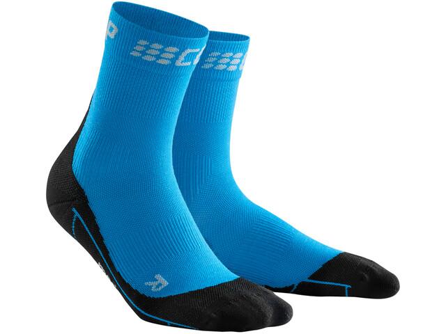 cep Winter Calcetines cortos Hombre, electric blue/black